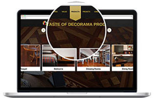 web design and development Decoroma